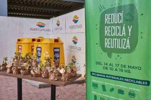 Reciclaje Solidario en Puerto Plaza