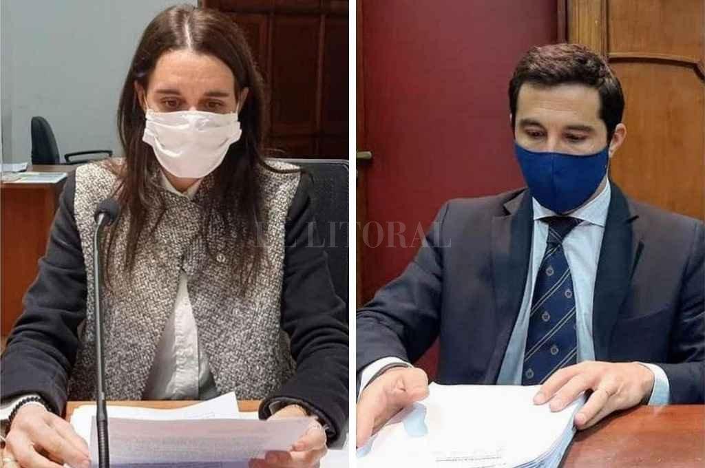 La medida cautelar fue impuesta por la jueza Sandra Valenti a raíz del pedido formulado por los fiscales Gonzalo Iglesias y Cristina Ferraro (foto)     Crédito: El Litoral
