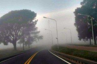 Se registran bancos de niebla en los acceso al Túnel Subfluvial