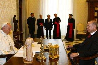 El papa Francisco recibió al canciller de Irán y habló con Erdogan por la ofensiva israelí en Gaza