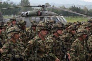 Mina antipersona deja dos soldados muerto y otros dos heridos