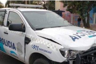 Un patrullero cruzó en rojo y mató a un motociclista en San Martín