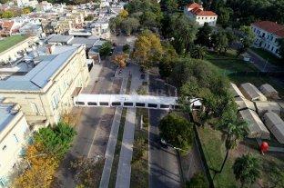 Quedan dos camas críticas en la ciudad de Santa Fe y comienza a funcionar el hospital militar -