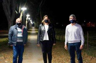 Santa Isabel: con la iluminación LED avanzan las obras en el barrio Belgrano