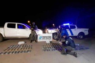 Chaco: incautaron casi 70 kilos de marihuana valuados en más de $ 6 millones