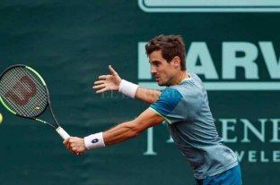 Guido Pella debuta ante Fabio Fognini en el ATP 250 de Ginebra