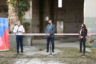 Se inició el proceso de reconstrucción de la Recova Ripamonti en Rafaela