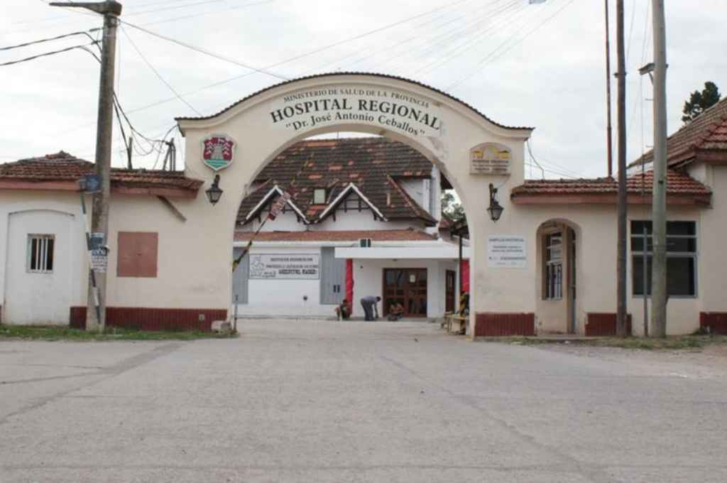 Hospital Regional de Bell Ville. Crédito: Gentileza