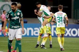 Agónico triunfo de Defensa y Justicia en Brasil contra Palmeiras