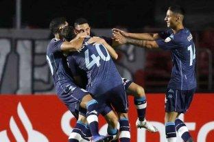 Con suplentes, Racing ganó en Brasil ante San Pablo y clasificó a octavos de final de la Libertadores