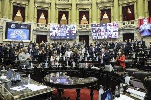 La Cámara de Diputados homenajeó a Mario Meoni y a Miguel Lifschitz
