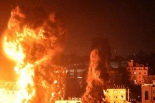 Israel bombardeo nuevamente la red de túneles de Hamas en Gaza