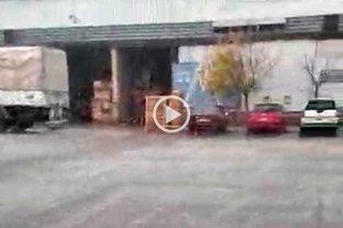 Video: cayó granizo en varios sectores de la ciudad de Santa Fe