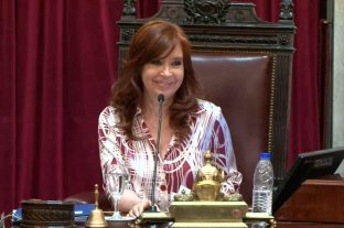 """Video: """"¿A qué hora cierra Rapanui?"""", el blooper de Cristina Kirchner en el Senado"""