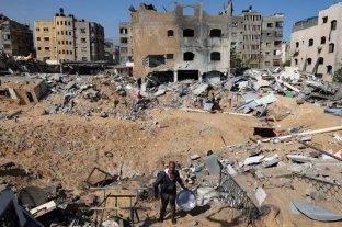 Israel y Hamas detuvieron los bombardeos