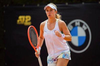 Podoroska avanza en la competencia de dobles