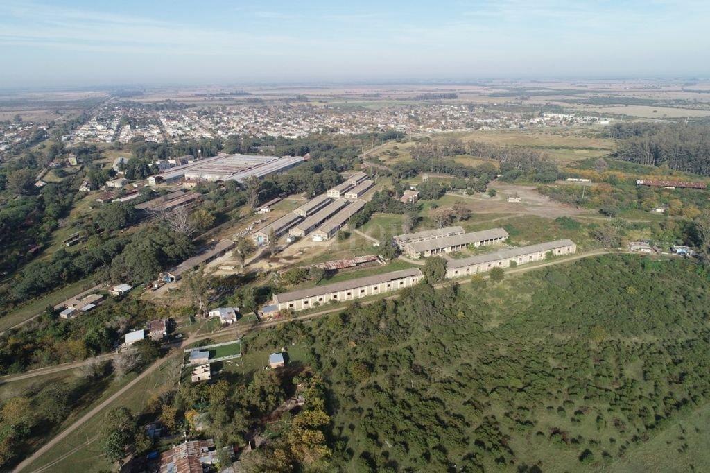 Ciudad ferroviaria. Laguna Paiva es una ciudad marcada a fuego por el paso del tren y cuenta con grandes galpones para su mantenimiento. Crédito: Fernando Nicola