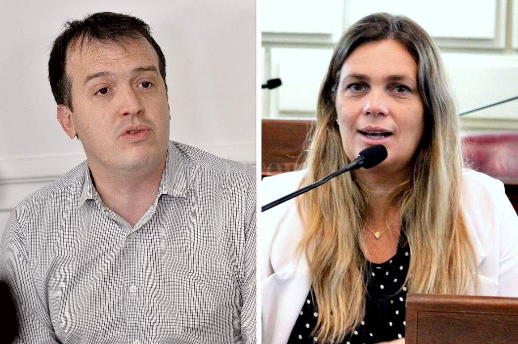 Joaquín Blanco y Silvana Di Stéfano. Crédito: Archivo El Litoral