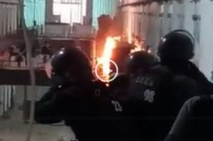 Video: revuelta de internos en la Cárcel de Coronda
