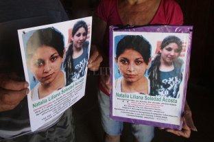 Natalia Acosta: posponen el acto por el aniversario nº 12 de su desaparición