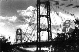 """La historia de Juan Carlos Meloni, el """"saltarín""""  del Puente Colgante que fue récord hace 80 años"""
