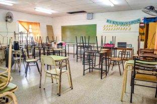 Enrico pidió la construcción de un aula para la Escuela N.º 1364 de Venado Tuerto