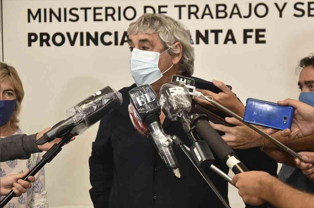 Sergio Romero, Secretario General de la Unión Docentes Argentinos (UDA). Crédito: Gentileza