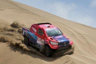 Lucio Álvarez volverá a competir en el Dakar