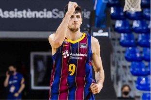 Con Bolmaro en el equipo, Barcelona ganó y es semifinalista de la Euroliga de básquet