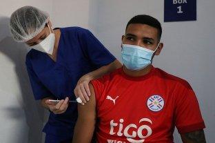 La Selección de Paraguay recibió la vacuna contra el coronavirus