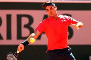 Federer arranca con el pie derecho en Roland Garros