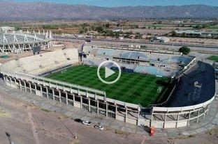 Desde el drone de El Litoral: así luce el estadio de San Juan en la previa de las semifinales
