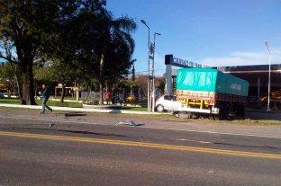 Choque múltiple en el acceso sur de la ciudad de San Justo