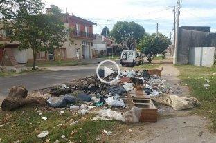 Cuando la desidia se hace costumbre: un basural en plena vía pública en barrio Mayoraz