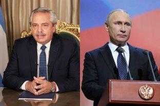 Fernández y Putin anunciarán el inicio de la producción de la vacuna Sputnik V en Argentina