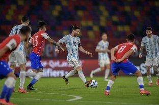 Argentina empató 1 a 1 con Chile en Santiago del Estero