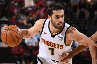 Denver Nuggets se clasificó a la semifinal de la Conferencia Oeste con aporte de Campazzo