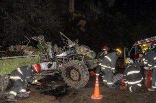 San Martín de Los Andes: volcó un Unimog y un soldado se encuentra grave