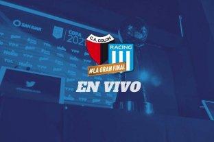 Colón-Racing: la final en vivo por El Litoral