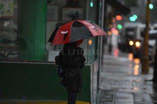 Sábado lluvioso en la ciudad de Santa Fe