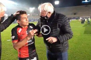 """El """"Pulga"""" Rodríguez a Vignatti: """"Te dije cuando vine que íbamos a salir campeón"""""""