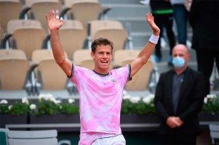 """""""Peque"""" Schwartzman se clasificó a octavos de final en Roland Garros"""