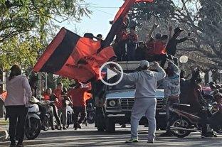 Siguen los festejos: caravana de hinchas en varios puntos de la ciudad de Santa Fe