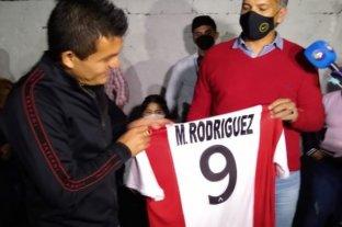 """""""Pulga"""" Rodríguez fue declarado ciudadano ilustre de Simoca"""