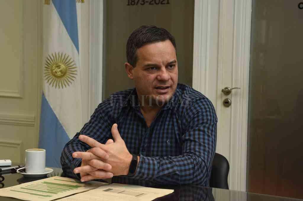 González integra la conducción del grupo Radicales Libres junto a referentes de otros lugares de la provincia. Crédito: Flavio Raina
