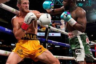 Floyd Mayweather peleó contra el youtuber Logan Paul, pero no hubo ganador