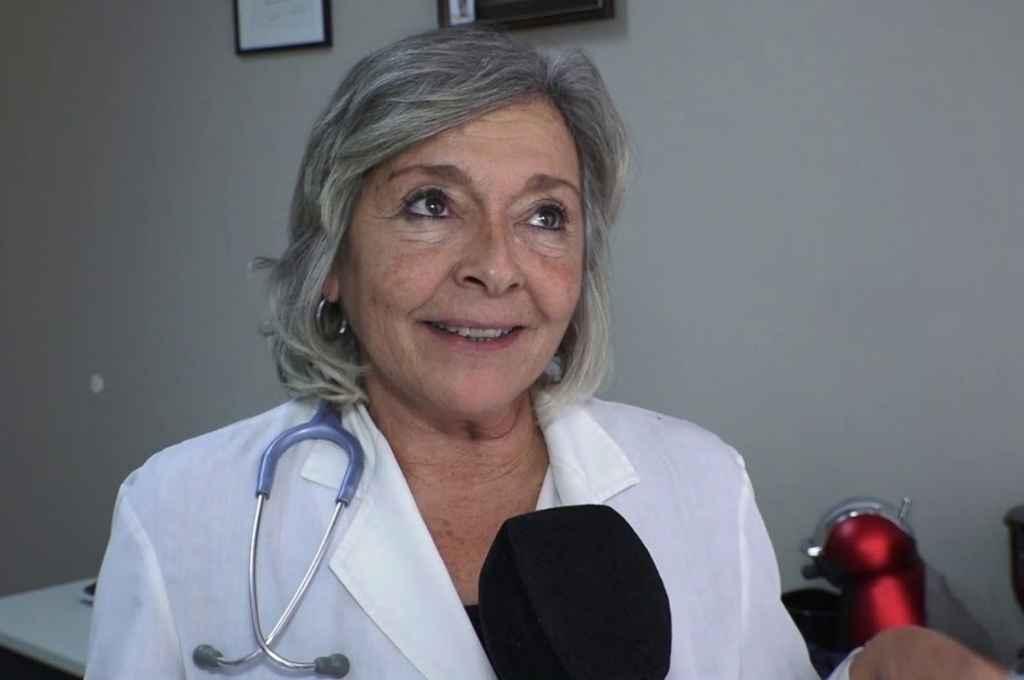 Elena Obieta, médica integrante de la Sociedad Argentina de Infectología.    Crédito: Gentileza