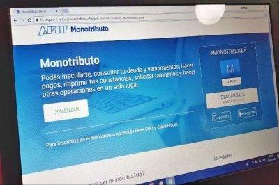 AFIP anunció una prórroga para el vencimiento de pago del monotributo