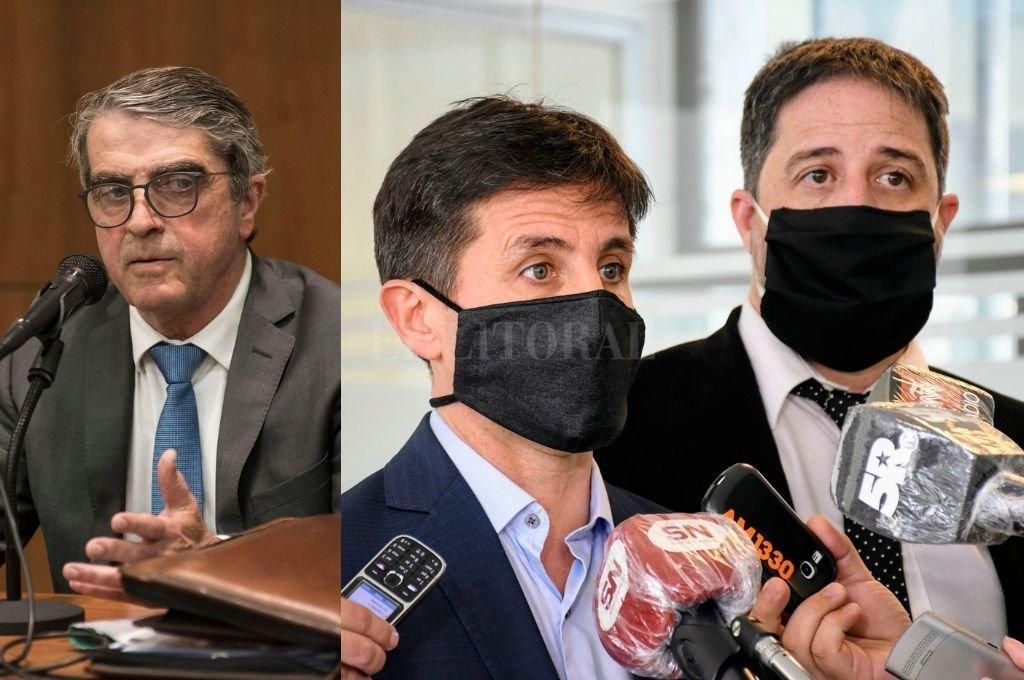 Traferri insiste ante Baclini para querellar a los fiscales que pidieron su desafuero