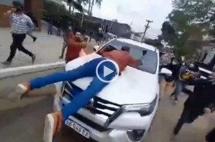 El ministro de Desarrollo Humano de Formosa arrastró con su camioneta a un manifestante